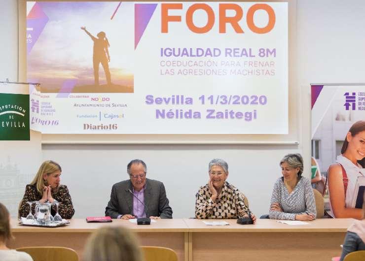Foro Igualdad Real muestra en Sevilla a la educación y la formación como elementos clave en la lucha contra la violencia hacia la mujer